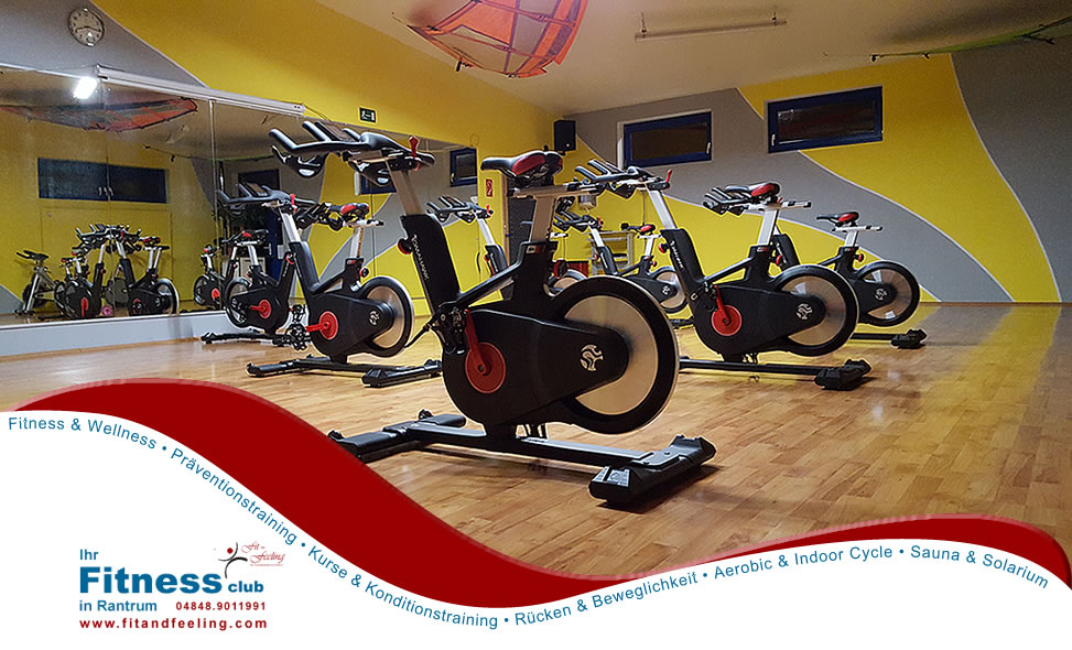 IndoorCycle im Fit and Feeling