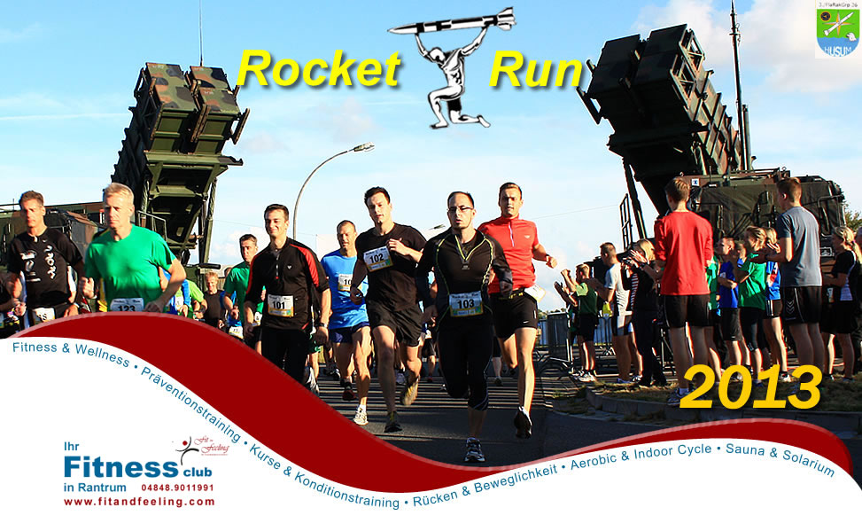 Fit and Feeling - Der Rocket Run 2013